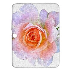 Pink Rose Flower, Floral Oil Painting Art Samsung Galaxy Tab 3 (10 1 ) P5200 Hardshell Case