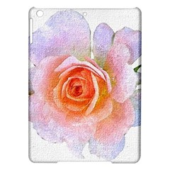 Pink Rose Flower, Floral Oil Painting Art Ipad Air Hardshell Cases