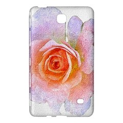 Pink Rose Flower, Floral Oil Painting Art Samsung Galaxy Tab 4 (8 ) Hardshell Case