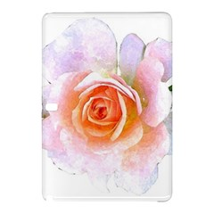Pink Rose Flower, Floral Watercolor Aquarel Painting Art Samsung Galaxy Tab Pro 10 1 Hardshell Case