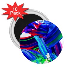 Abstract Acryl Art 2 25  Magnets (10 Pack)