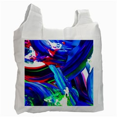 Abstract Acryl Art Recycle Bag (one Side)
