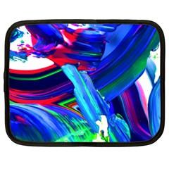 Abstract Acryl Art Netbook Case (xxl)