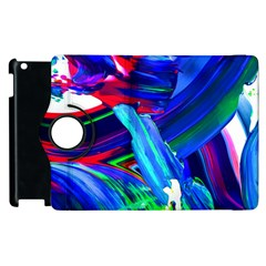 Abstract Acryl Art Apple Ipad 2 Flip 360 Case