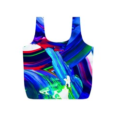 Abstract Acryl Art Full Print Recycle Bags (s)