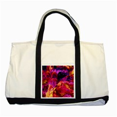 Abstract Acryl Art Two Tone Tote Bag