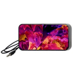 Abstract Acryl Art Portable Speaker