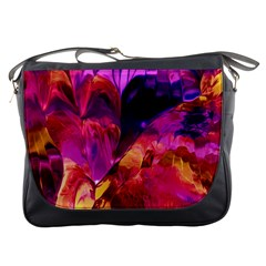 Abstract Acryl Art Messenger Bags