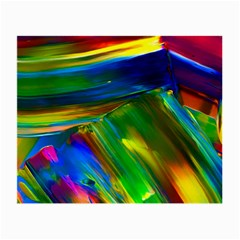 Abstract Acryl Art Small Glasses Cloth