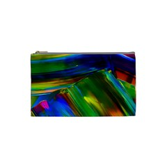 Abstract Acryl Art Cosmetic Bag (small)