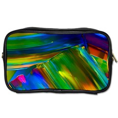 Abstract Acryl Art Toiletries Bags