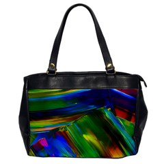 Abstract Acryl Art Office Handbags