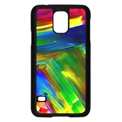 Abstract Acryl Art Samsung Galaxy S5 Case (black)