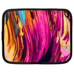 Abstract Acryl Art Netbook Case (xl)