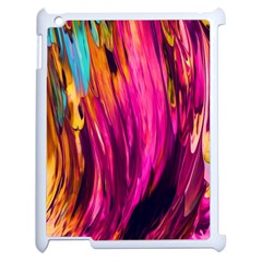 Abstract Acryl Art Apple Ipad 2 Case (white)