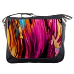 Abstract Acryl Art Messenger Bags Front