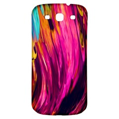 Abstract Acryl Art Samsung Galaxy S3 S Iii Classic Hardshell Back Case