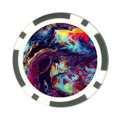 Abstract Acryl Art Poker Chip Card Guard (10 Pack)