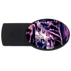 Abstract Acryl Art Usb Flash Drive Oval (4 Gb)