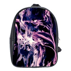 Abstract Acryl Art School Bag (xl)