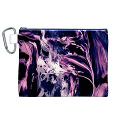 Abstract Acryl Art Canvas Cosmetic Bag (xl)