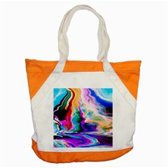 Abstract Acryl Art Accent Tote Bag
