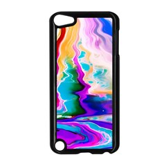 Abstract Acryl Art Apple Ipod Touch 5 Case (black)