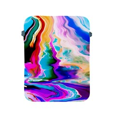 Abstract Acryl Art Apple Ipad 2/3/4 Protective Soft Cases