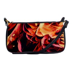 Abstract Acryl Art Shoulder Clutch Bags