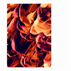 Abstract Acryl Art Small Garden Flag (two Sides)