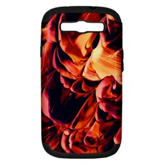 Abstract Acryl Art Samsung Galaxy S Iii Hardshell Case (pc+silicone)