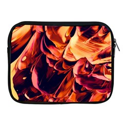 Abstract Acryl Art Apple Ipad 2/3/4 Zipper Cases