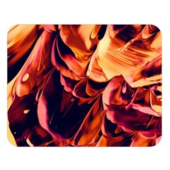 Abstract Acryl Art Double Sided Flano Blanket (large)