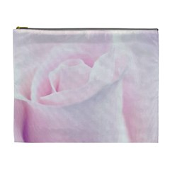 Rose Pink Flower, Floral Aquarel   Watercolor Painting Art Cosmetic Bag (xl)