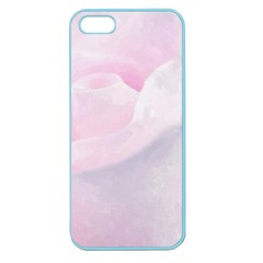 Rose Pink Flower, Floral Aquarel   Watercolor Painting Art Apple Seamless Iphone 5 Case (color)
