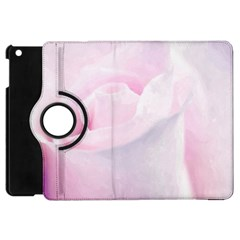 Rose Pink Flower, Floral Aquarel   Watercolor Painting Art Apple Ipad Mini Flip 360 Case