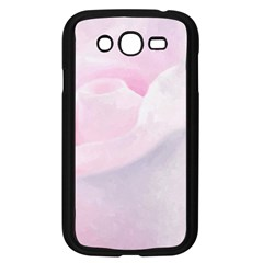 Rose Pink Flower, Floral Aquarel   Watercolor Painting Art Samsung Galaxy Grand Duos I9082 Case (black)