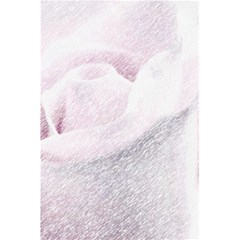 Rose Pink Flower  Floral Pencil Drawing Art 5 5  X 8 5  Notebooks