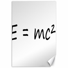 E=mc2 Gravity Formula Physics Canvas 24  X 36
