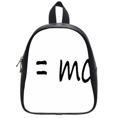 E=mc2 Gravity Formula Physics School Bag (small)