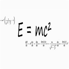 E=mc2 Formula Physics Relativity Canvas 20  X 30