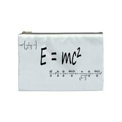 E=mc2 Formula Physics Relativity Cosmetic Bag (medium)