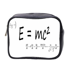 E=mc2 Formula Physics Relativity Mini Toiletries Bag 2 Side
