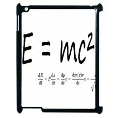 E=mc2 Formula Physics Relativity Apple Ipad 2 Case (black)
