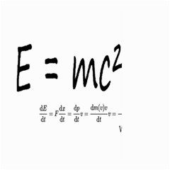 E=mc2 Formula Physics Relativity Large Garden Flag (two Sides)