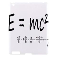 E=mc2 Formula Physics Relativity Apple Ipad 3/4 Hardshell Case