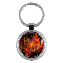 Abstract Acryl Art Key Chains (round)