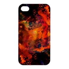 Abstract Acryl Art Apple Iphone 4/4s Premium Hardshell Case