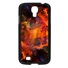 Abstract Acryl Art Samsung Galaxy S4 I9500/ I9505 Case (black)