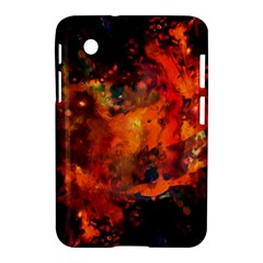 Abstract Acryl Art Samsung Galaxy Tab 2 (7 ) P3100 Hardshell Case